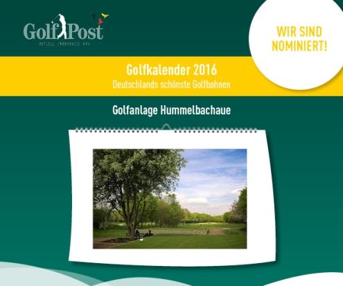 Nominierung Golfkalender 2016