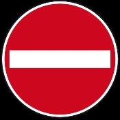 Kein Zutritt