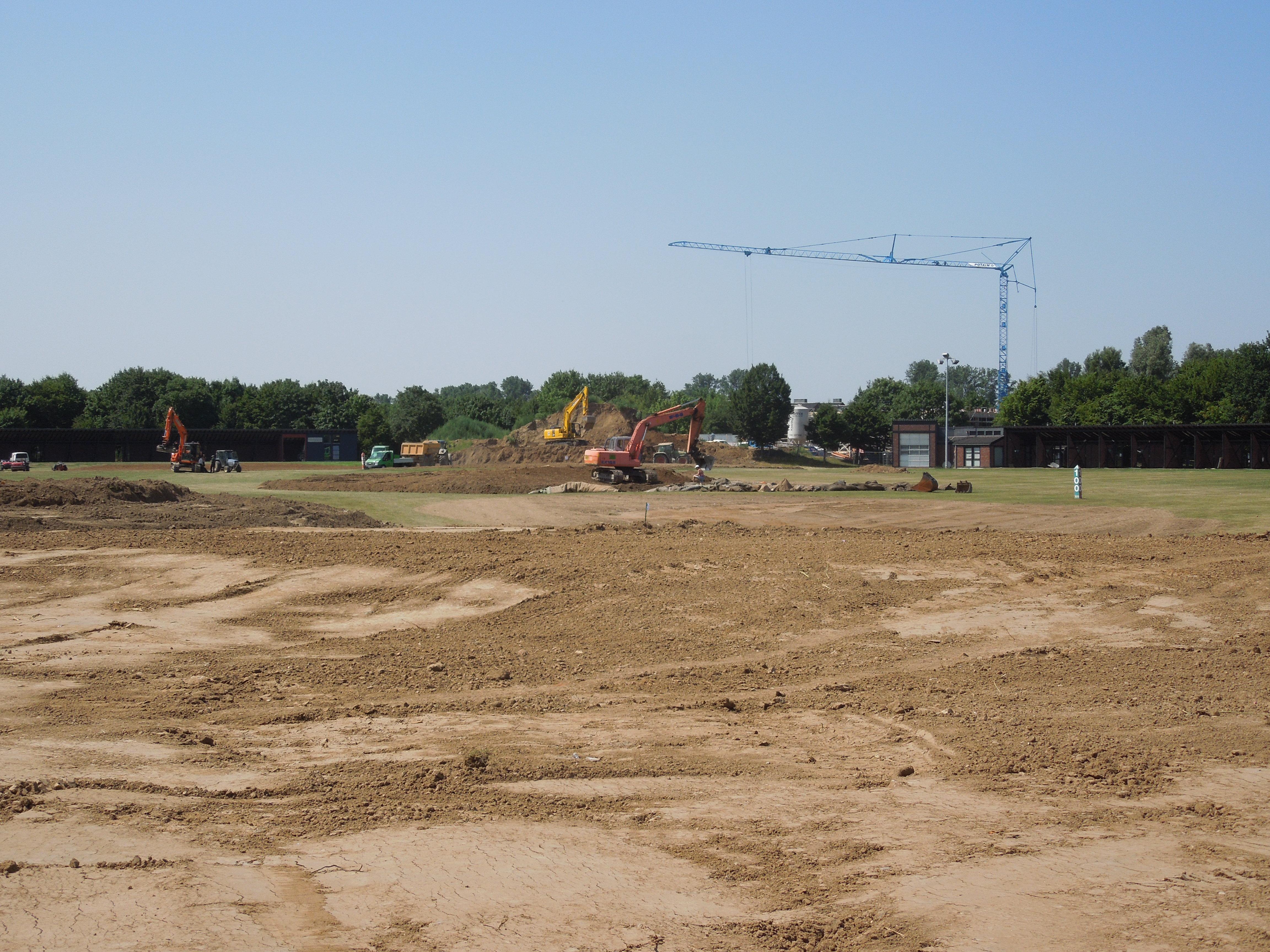 Umbau Golfodrom 17.07.2015